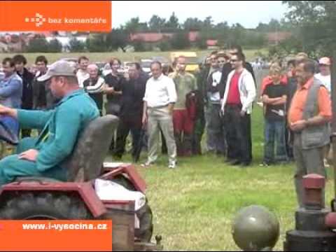 Malotraktory se sjely do Vilémova