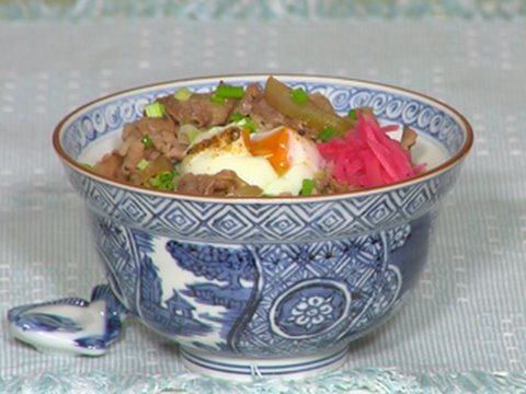 How to Make Gyudon (Beef Bowl) 牛丼の作り方