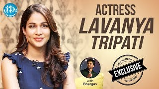 Actress Lavanya Tripati Exclusive Interview || Talking Movies With iDream - IDREAMMOVIES