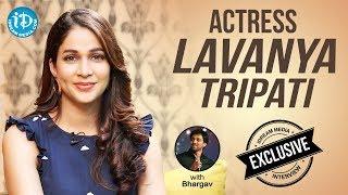 Actress Lavanya Tripati Exclusive Interview || Talking Movies With iDream - IDREAMMOVIES