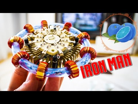 Video: Kaip padaryti - reaktorius IRON MAN