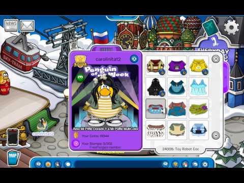 Codigos de ropa de Free penguin