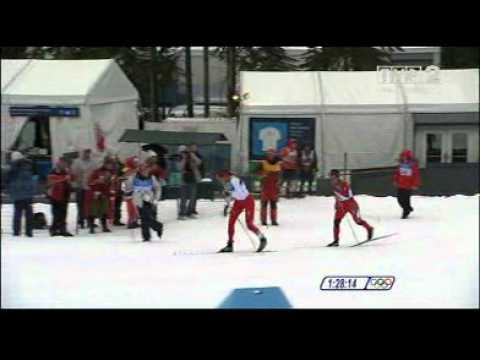 Justyna Kowalczyk zdobywa złoty medal Igrzysk Olimpijskich w Vancouver