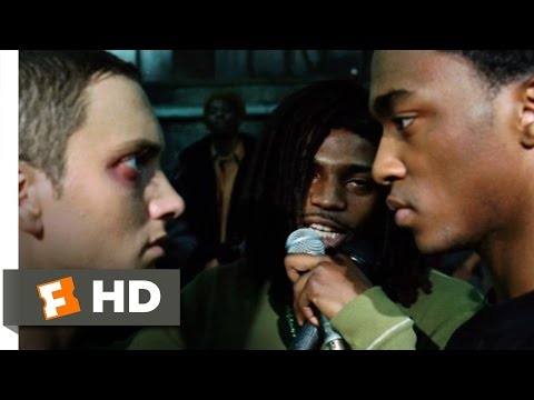 8 Mile 10 10 Movie CLIP Rabbit Battles Papa Doc 2002 HD