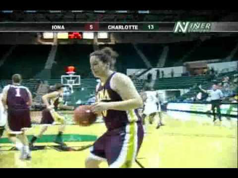 Charlotte 49ers Womens Basketball Game Highlights vs. Iona