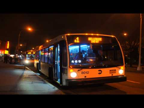 MTA New York City Bus 2011 NovaBus LFS 8012 [ Audio Clip ]