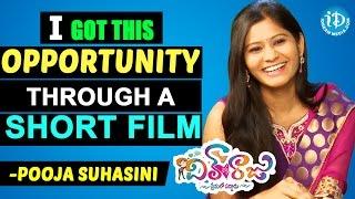 I Got This Opportunity Through a Short Film - Pooja Suhasini || Dil Unna Raju Movie - IDREAMMOVIES