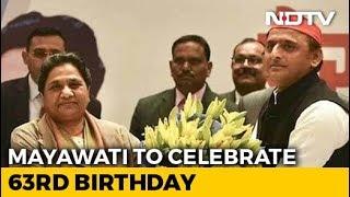 Low-Key Birthday For Mayawati, New Ally Akhilesh Yadav May Visit Her - NDTV