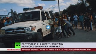 Venezuela crisis: 2 dead, over dozen injured near Brazil-Venezuela border - reports - RUSSIATODAY