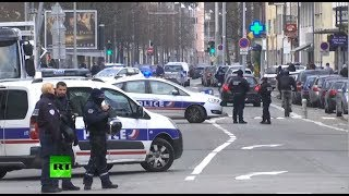 Dead or alive: French security forces op to catch Strasbourg shooting suspect - RUSSIATODAY