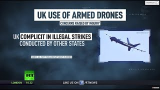 War Crime Assistants? Probe reveals UK's alleged part in drone strikes during US operations - RUSSIATODAY