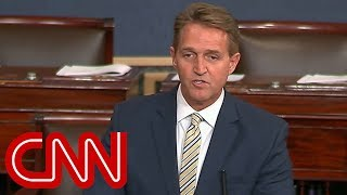 Flake: Trump battered and abused the truth - CNN