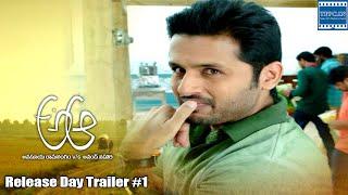 A Aa Dialogue Trailer   Release Date 01   Nithiin, Samantha   TFPC - TFPC