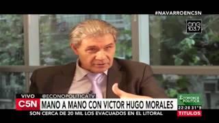 Víctor Hugo analizó primeras semanas del nuevo Gobierno