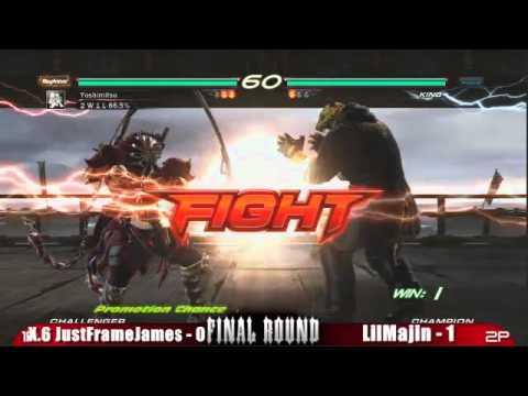 Final Round XIV (2011): Tekken 6 Top 8: JustFrameJames vs lilMajin