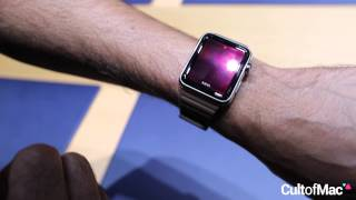 مقطع فيديو قصير يستعرض لنا واجهة مستخدم الساعة الذكية Apple Watch