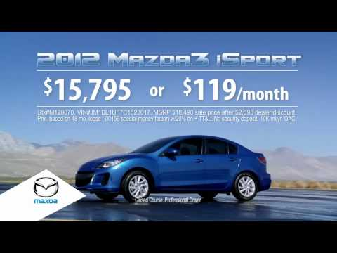 Get Some Attention with a New Mazda from Rudolph Mazda
