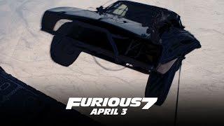 شاهد كيف تم تصوير رمي السيارات بفيلم فيوريوس 7