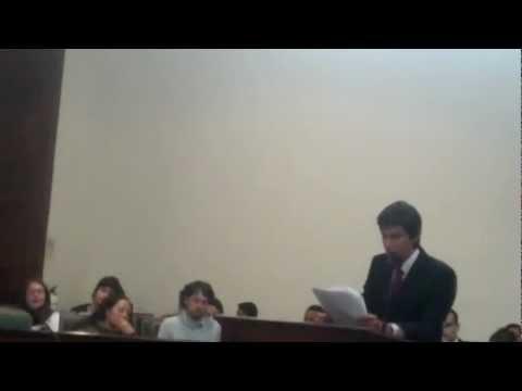 Ponencia de Restauracion Nacional sobre el Marco Legal de Paz