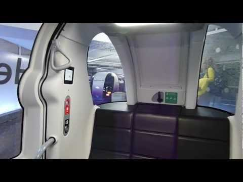 NEW Heathrow POD cars - full ride from London Heathrow  Airport's Terminal 5 to Business Car Park B