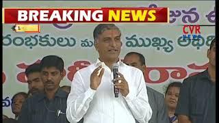 Minister Harish Rao Speech at Kukatpally Model Rythu Bazar Foundation | CVR NEWS - CVRNEWSOFFICIAL