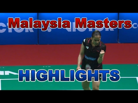 Victor Far East Malaysia Masters 2017 | HIGHLIGHTS | Singles [HD]