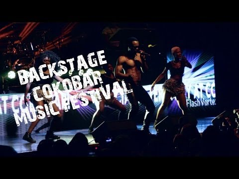 Backstage at Flavour Olamide Sean Tizzle At Cokobar Music Festival