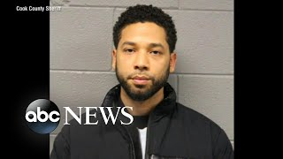 Jussie Smollett charged with felony, out on bond for allegedly staging hoax attack - ABCNEWS