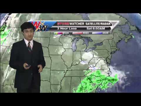 Saturday, December 20th Morning Forecast