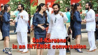 Kareena in an INTENSE conversation with Saif before promotions - BOLLYWOODCOUNTRY