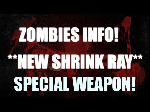 *NEW* ZOMBIES SHRINK RAY GUN on Shangri La & fire zombie boss? - Analysis (annihilation map pack)