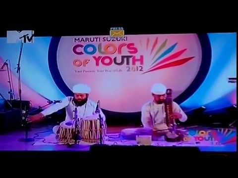 MTV Telecast the winner of Maruti Suzuki Colors Of Youth - Gian Singh Namdhari (pakhawaj jori)