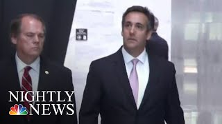 Michael Cohen Pleads Guilty, Says He Paid Hush Money At Donald Trump's Direction | NBC Nightly News - NBCNEWS