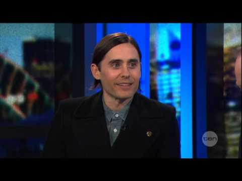 Jared Leto interview on The Project (2013) - 30 Seconds To Mars