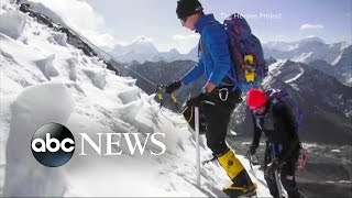 Celebrating Wounded Warriors on Top of the World - ABCNEWS