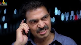 Krishna Movie Scenes | Sayaji Shinde Saves Trisha | Latest Telugu Movie Scenes | Sri Balaji Video - SRIBALAJIMOVIES