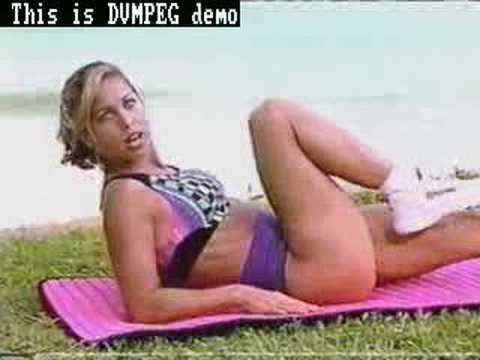 Denise Austin sexy Video