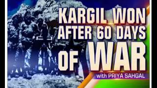 Kargil war: war that India watched in their living rooms, drove away Pakistan from high mountains - NEWSXLIVE