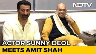 Sunny Deol BJP Candidate From Amritsar? Amit Shah Meets Action Hero - NDTV