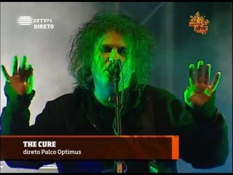 The Cure Lullaby live Lisbon Optimus Alive 2012-07-14