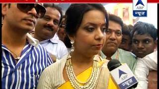 Only expect him to work for development of Maharashtra: Fadnavis's wife to ABP News - ABPNEWSTV