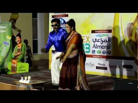 Ullaasa Poothirikal - Couple Dance - Sumesh & Jisha