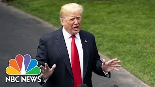 President Donald Trump On 'Spygate': 'I Hope It's Not True' That FBI Used Informant | NBC News - NBCNEWS