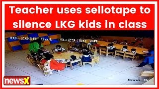 Gurugram School Punishment Video Goes Viral, Selotape Used To Silence Kids - NEWSXLIVE