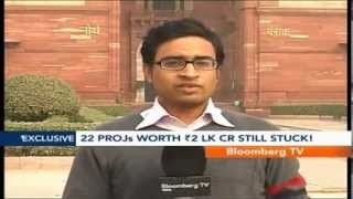 Market Pulse- 22 Projs Worth Rs.2 Lk Cr Still Stuck! - BLOOMBERGUTV