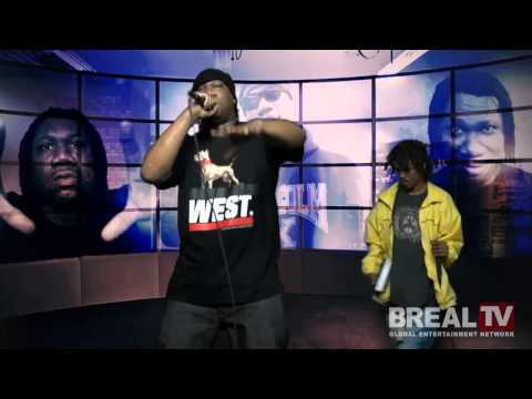 "KRS-One ""B. Real TV Freestyle"" Video"