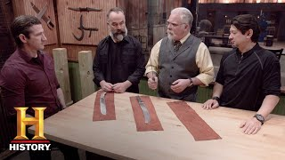 Forged in Fire: Bonus - Round 2 Deliberation (Season 4, Episode 10) | History - HISTORYCHANNEL