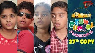 Fun Bucket JUNIORS | Episode 27 | Kids Funny Videos | Comedy Web Series - TELUGUONE
