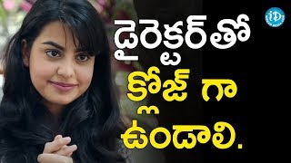 Chemistry With Director Is Very Important - Sasha Singh || Talking Movies With iDream - IDREAMMOVIES