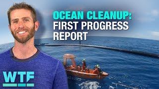 Ocean Cleanup: The first progress report is in | What the Future - CNETTV